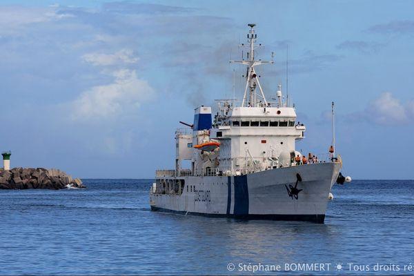 Un garde-côte indien en visite à La Réunion