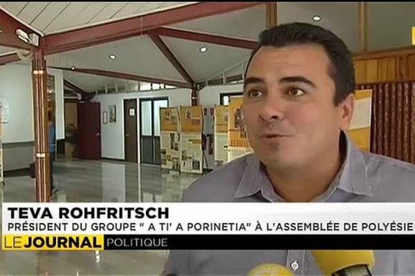 A Ti' a Porinetia dénonce les pressions du Tahoeraa