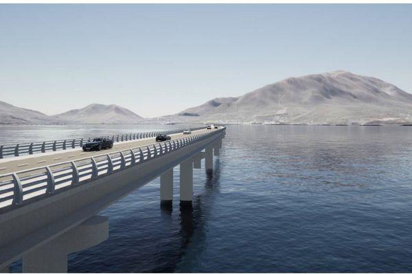 Mont-Dore route contournement projet