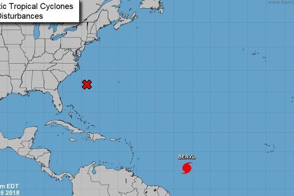 Ouragan Beryl
