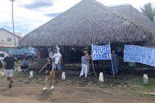 Action du collectif Wallis et Futuna sans blocage le 26 octobre 2021.