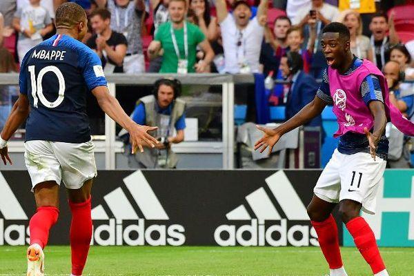 Après-but de Mbappé contre Argentine