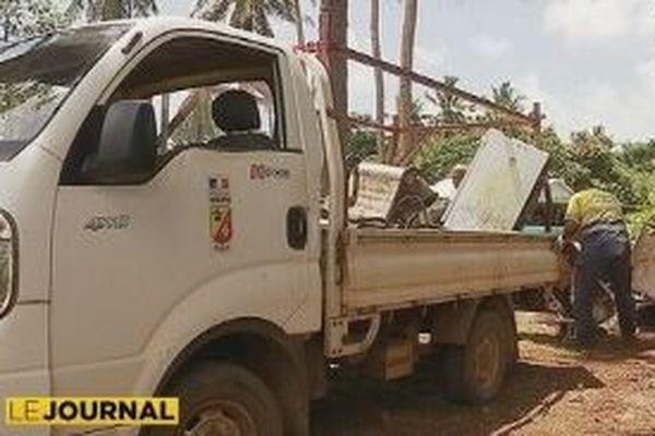 camion circonscription ramassage des encombrants