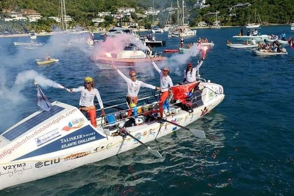 Antigua et Barbuda: quatre filles  traversent l'Océan Atlantique à la rame