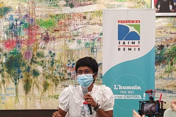 La maire de Saint-Denis Ericka Bareigt