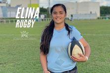 Elina Folituu, 15 ans, jeune espoir en rugby