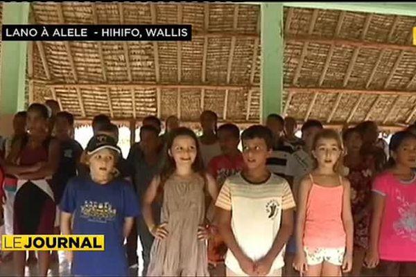 Les enfants de Wallis préparent un accueil républicain au chef de l'Etat