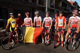 Team Belgique 2ème étape
