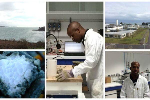 Livio Ruffine, spécialiste des hydrates de gaz à l'Ifremer à Brest