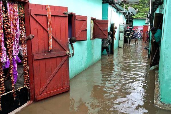 Les Malgaches inondées