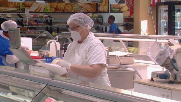 Coronavirus supermarchés