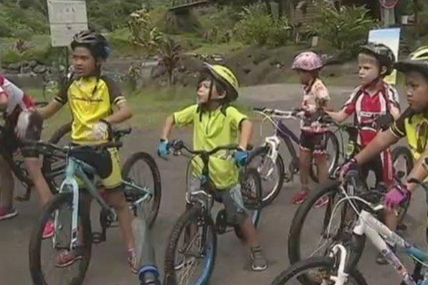 sortie cyclisme Fautaua