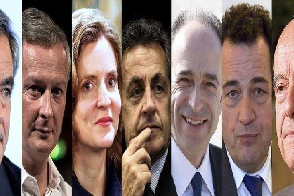 Candidats primaires droite