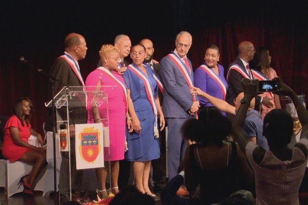 Le conseil municipal de Basse-Terre