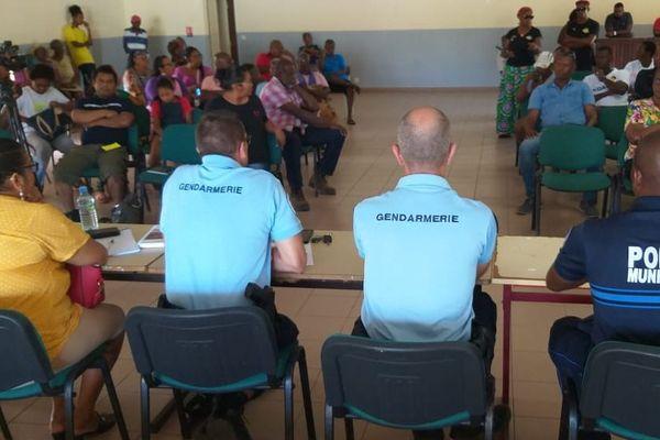 La gendarmerie tente de rassurer la population d'Iracoubo