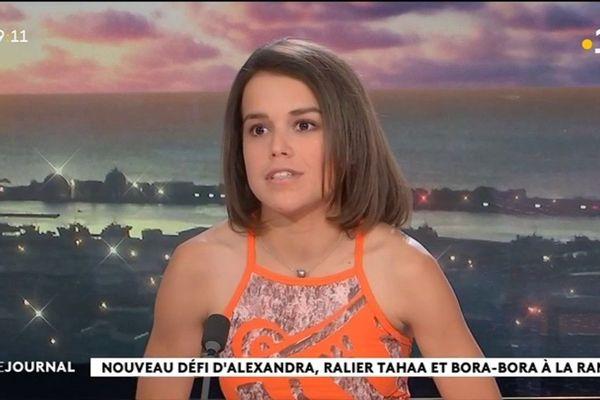 Alexandra Caldas repousse (de nouveau) les limites