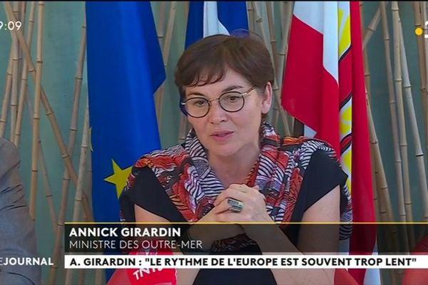 Annick Girardin : «  Le rythme de l'Europe est souvent trop lent »
