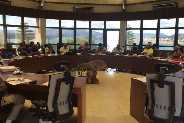 Mise en place du conseil des grands chefs au sénat coutumier