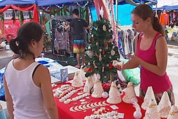 Faa'a : un marché de Noël et une course de Pères Noël