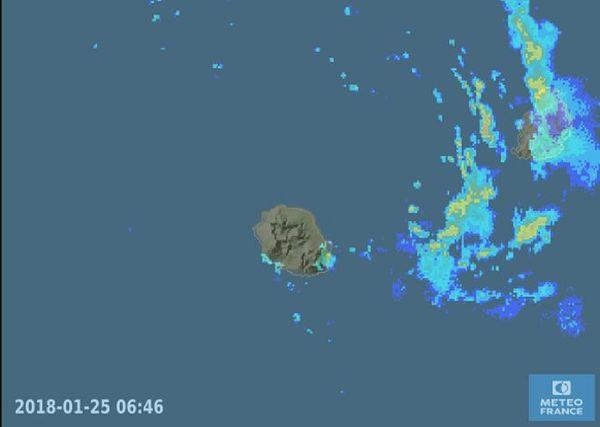Radar météo 25 janvier 2018