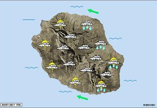 carte météo 4 juillet 2017