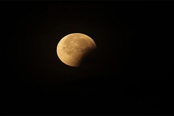 Eclipse de lune Martinique