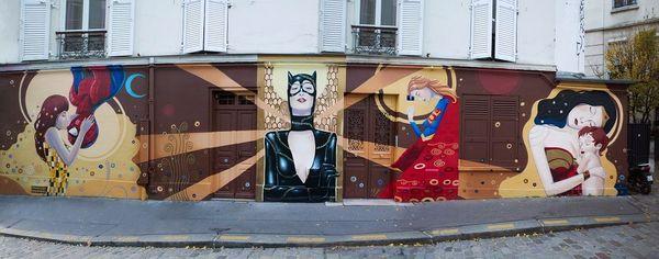 David Bonheur rues de Paris