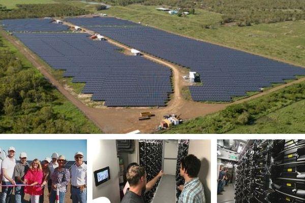 La foa : centrale solaire Wi Hâche Ouatom