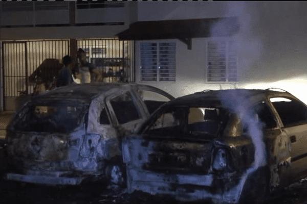 Voitures brûlées à St-Laurent