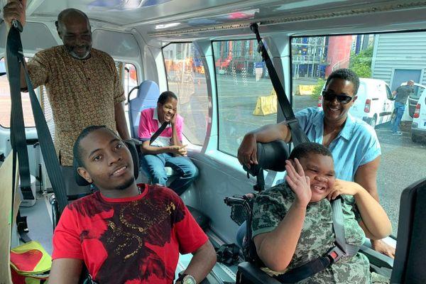 Visite de jeunes polyhandicapés au grand port le 13 février 2020
