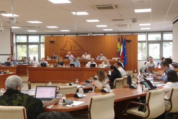 Assemblée de la province Sud, voeu sur le référendum, 12 mai 2021