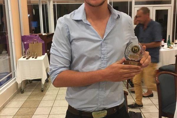 Gaëtan Dejardin, 2e prix Professionnel Bar