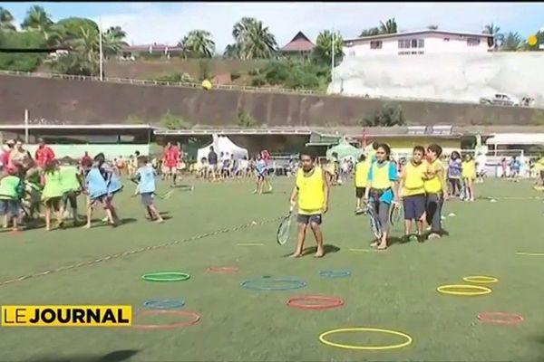 Initiation au tennis pour 500 enfants de primaire