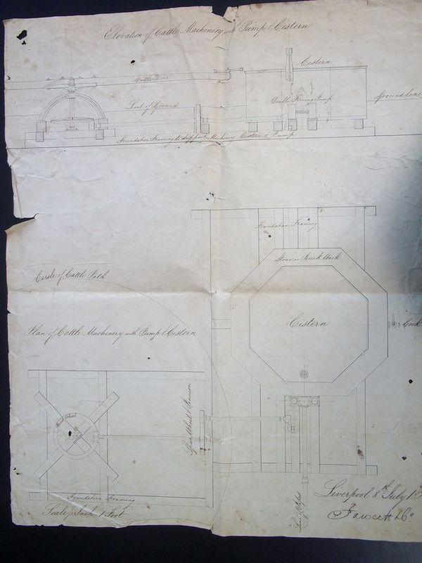 Plan de l'usine