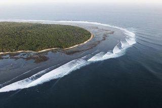 G-Land Indonésie surf vague