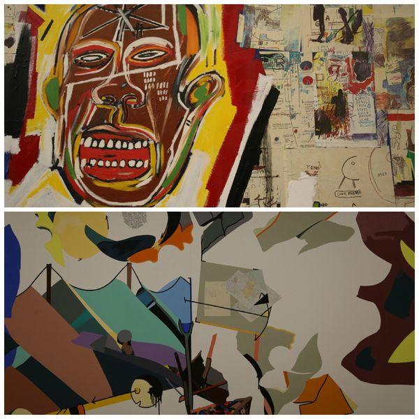 King of the Zulus Jean-Michel Basquiat-La Terre couchée Hervé Télémaque