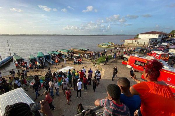 Transport de blessés en provenance du Suriname