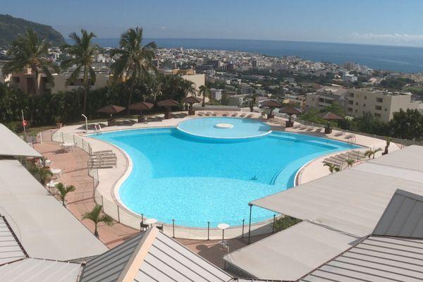Hotel Créolia vue aérienne