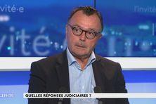 Le procureur Yves Dupas au journal télévisé, le 16 février 2021.