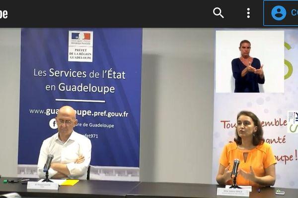 Conférence de presse ARS préfet