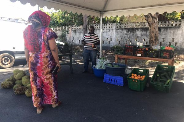 Marché paysan et artisanal de Pamandzi