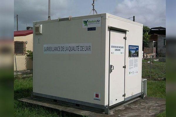 station de mesure de la qualité de l'air