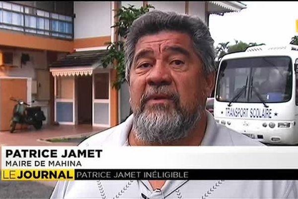 Inéligible, Patrice Jamet saisit le Conseil d'Etat