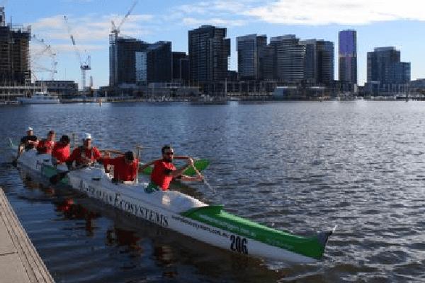L'équipe de Melbourne à l'entrainement