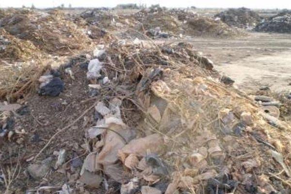 plastique décharge