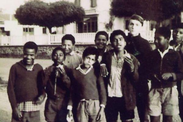 Jeunes Réunionnais au foyer de Quézac