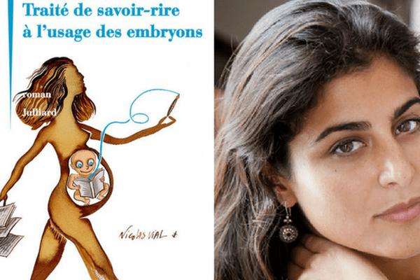 """Anne Akrich publie son 3e livre : """"Traité de savoir-rire à l'usage des embryons"""""""