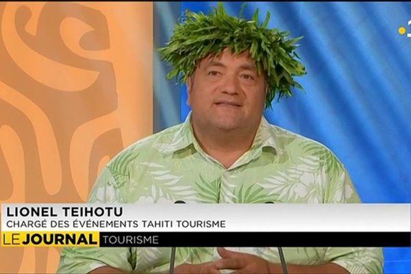 Invité du journal : Lionel Teihotu, chargé des événements au GIE Tahiti Tourisme