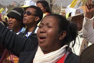 Des Réunionnais ont assisté à la messe du pape François à Madagascar.