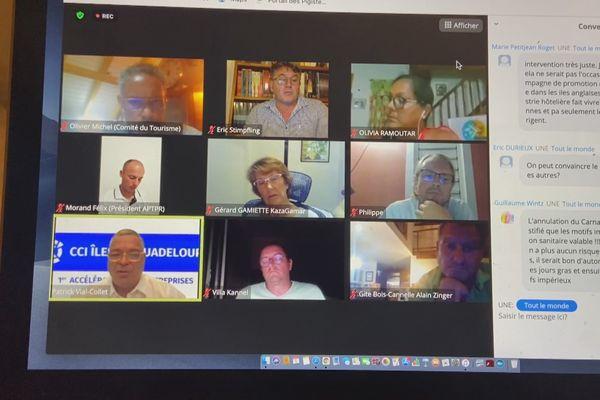 zoom réunion tourisme